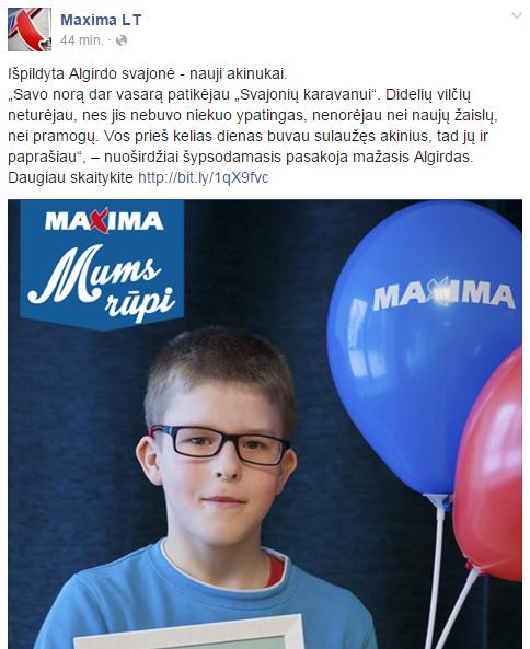 MAXIMA-Facebook