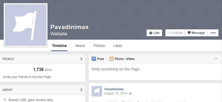 facebook-fanpage-nesutvarkytas